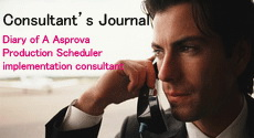Production Scheduling Consultant's Journal